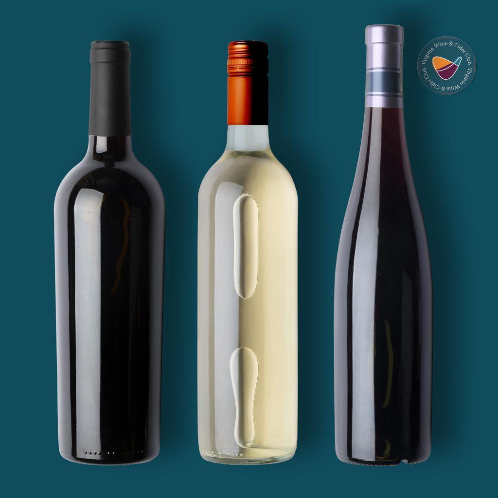 Virginia Wine Club wine bottles